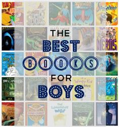 Best Books for Tween-Aged Boys 11-14