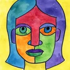 Image result for colorful self portrait