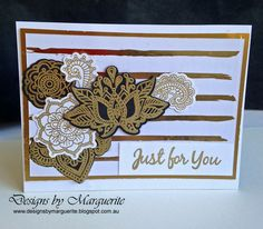 Designs by Marguerite: Ornate Blossoms new from CTMH Card Making Designs, Heart Cards, Close To My Heart, Love Cards, Your Design, Birthday Cards, Blossoms, Greeting Cards, Stamp