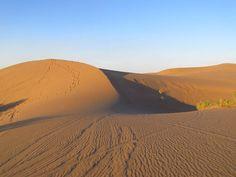 Sand dunes of Mesr Desert Climbing Wall, Rock Climbing, Walking Paths, Hot Springs, Hiking Trails, Rocky Mountains, Trekking, Iran, Monument Valley
