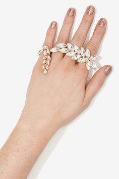 Eliana Crystal Hand Piece | Shop What's New at Nasty Gal