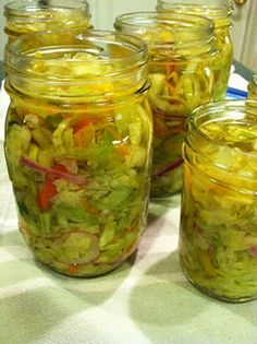 Pickled Cabbage Slaw... yum...this recipe looks perfect for my tastes!