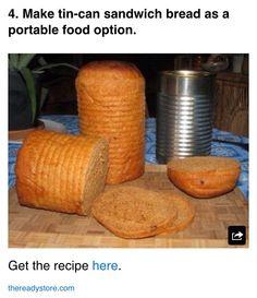 Tin Can Sandwich Bread Recipe #Food #Drink #Trusper #Tip