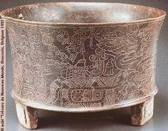 Maya chocolate beaker
