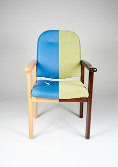 Oud en nieuw Herstofferen stoelen www.visionfurniture.nl de restylers