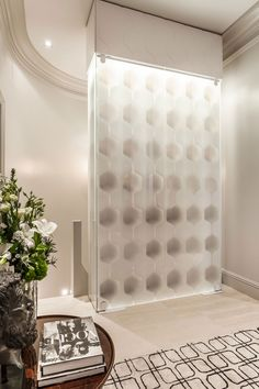 """Switchable Privacy Glass Wine Cellar - """"Frosted State"""" Window Treatments, Wine Glass, Glass, Modern House, Design Details, Modern, Printed Shower Curtain, Glass Wine Cellar, Privacy Glass"""