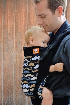 Canvas - Tula Release 'MOUSTACHES' Tula Baby Carrier