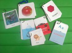 printable flash cards - busy bag