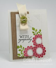 With Sympathy by TreasureOiler - Cards and Paper Crafts at Splitcoaststampers