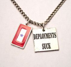 Deployments Suck with Blue Star Mother by MyTinyTemptations, $14.00