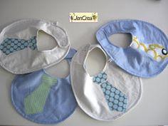 Jencrea  - creazioni di tutto e un pò: Nuovi bavaglini per piccoli ometti by JenCrea www.jencrea.135.it