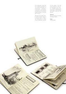 Classic Architecture Studies by Chema Pastrana, via Behance