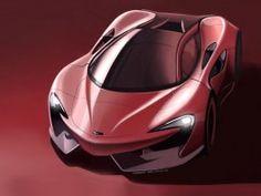 McLaren Design Sketch by Robert Melville