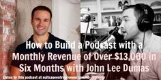 If you want to know how to build a successful and quality podcast that you can make money from, you need to listen to this podcast episode with John Lee Dumas, host of the Entrepreneur on Fire podcast.