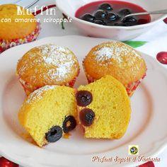 Muffin+con+amarene+sciroppate
