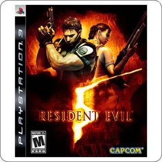 PS3 Resident Evil 5 R$64.90