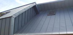 Couverture toiture zinc,joint debout, Côte d'Or, Bourgogne
