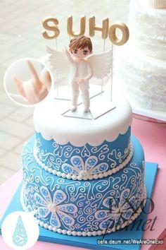 designs anime forward baekhyun as a cake cute baekhyun cake see more 5 ...