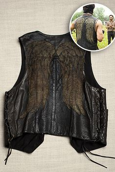 "A Look-Alike of Daryl�s Winged Leather Vest: | 27 Gifts Only True ""Walking Dead"" Fans Will Appreciate"