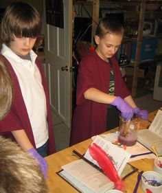 Feel LOVD Everyday: What I Made Wednesday {A Harry Potter Birthday Party: Class Schedule}