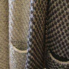 Chaquetas de lana tres cuartos