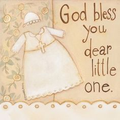 God Bless You Baptism Party Napkins, $4.95.