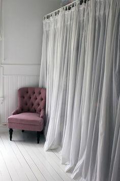 Smart Closet Idea: Curtain Doors