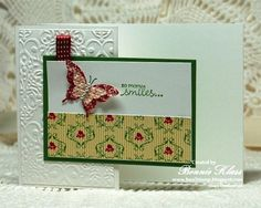Z-Fold Butterfly by bon2stamp - Cards and Paper Crafts at Splitcoaststampers