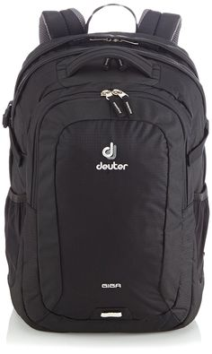 Deuter Giga Backpack - Black *** Check out this great image  : Hiking backpack