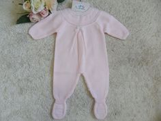 PELELE ROSA CON BORDADO   Pardalets - Ropa para tu bebe