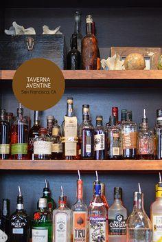 taverna aventine // financial district // bar