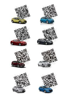 Driving you crazy: Series of codes designed for Honda (New Zealand) by Set QR.