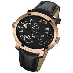 Epos mechanical watch, Swiss quality dual time limited edition €1950,- www.megawatchoutlet.com