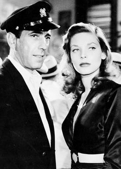 Bogie and Bacall in To Have and Have Not (1944)