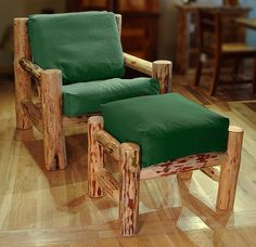 log furniture ideas
