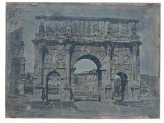 Rome: L'Arc de Constantin et le Colisée 1840 (ca)
