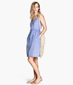H&M Chambray dress € 24,95