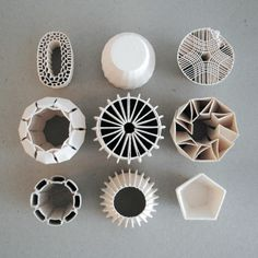 starttomelt: 3D Printed Ceramics remember subscribe at 3DKolehti - Original post: http://pinterest.com/pin/135530270008859686/