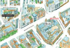 Map to Pandora Dress Agency...yep more research....London Consignment in Knightsbridge.