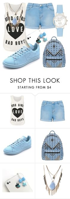 """""""Untitled #254"""" by sara-bitch1 ❤ liked on Polyvore featuring Forever New, adidas, MCM and Forever 21"""