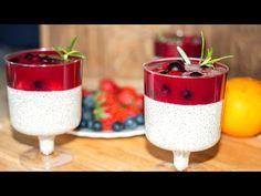 Самый МОДНЫЙ Десерт Чиа Пудинг на Молоке Простой Рецепт. Ирина Кукинг - YouTube