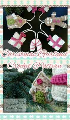 This pattern set includes 4 cute patterns, they are easy and fast to make, perfect for last time gifts. Measures: Gingerberad house 9 Gift box 8 Candy cane 12 Gingerbread man 11 US crochet terminology Christmas Crochet Patterns, Crochet Designs, Garland, Crochet Earrings, Pdf, Christmas Ornaments, Holiday Decor, Unique Jewelry, Handmade Gifts