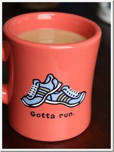 Perfect for my coffee addiction and my love of running! 2 of my favs! I Love To Run, Run Like A Girl, Just Run, Girls Be Like, Just Do It, My Love, Fitness Workouts, Running Workouts, Runners High