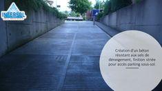 #béton #sel #déneigement #striée #parking #soussol