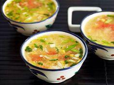 «Любителям китайской кухни - куриный суп с кукурузой!