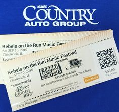 Who Wants To WIN 2 Party Package Tickets To Rebels On The Run Music Festival? Face Value Of $110.00!! Kunes Country Of Mt Carroll is a Proud Sponsor! @gunnarandthegrizzlyboys @brushvillenation @dirtroadrockers #KunesCountryOfMtCarroll #RebelsOnTheRun #gunnarandthegrizzlyboys #brushville #dirtroadrockers #outdoormusicfestival