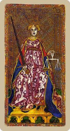 tarot carte du diable | Anciennes lames du Tarot : Tarots de Visconti di Modrone