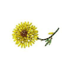 Vintage Weiss Large Flower Brooch