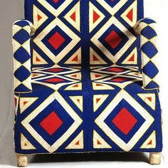 AphroChic: Design Geek: All About Beaded Yoruba Chairs