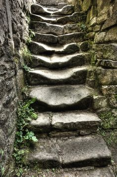 steps of faith... taking the first step even when you do not know where the stairs will lead